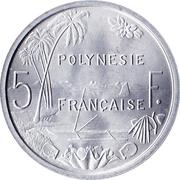 5 francs (sans IEOM) – revers