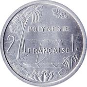 2 francs (sans IEOM) – revers