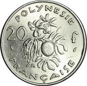 20 francs (IEOM) -  revers