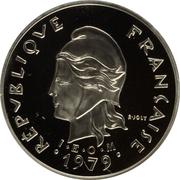 10 Francs (Piedfort) – avers