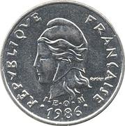10 francs (IEOM) – avers