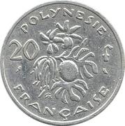 20 francs (sans IEOM) -  revers