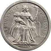 1 franc (sans IEOM) – avers