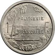 1 franc (sans IEOM) – revers