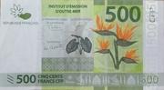 500 Francs CFP – avers