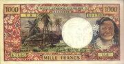 1000 Francs – avers