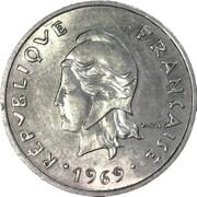 20 francs (sans IEOM) – avers