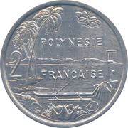 2 francs (IEOM) – revers