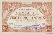 25 Centimes – avers