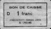 1 Franc – avers