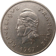 10 Francs (sans IEOM) – avers