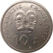 10 francs (sans IEOM) – revers