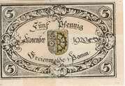 5 Pfennig (Freienwalde) – avers