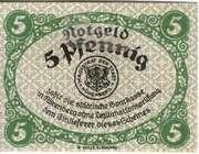 5 Pfennig (Nörenberg) – avers