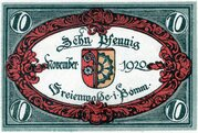 10 Pfennig (Freienwalde) – avers