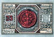 25 Pfennig (Ferienwalde) – revers