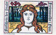25 Pfennig (Freienwalde) – avers