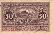 50 Pfennig (Stadtgemeinde Jarmen) – avers