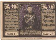 50 Pfennig (Stolp) – revers