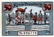 50 Pfennig (Dramburg) – revers