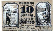 10 Pfennig (Gollnow) – avers