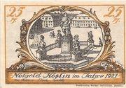 25 Pfennig (Köslin) – avers