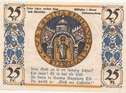 25 Pfennig (Köslin) – revers