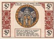 50 Pfennig (Köslin) – revers