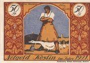 50 Pfennig (Köslin) – avers