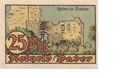 25 Pfennig (Daber) – revers