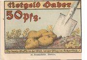 50 Pfennig (Daber) – revers