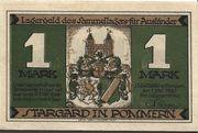 1 Mark (Stargard in Pommern; Sammellager für Ausländer) – avers