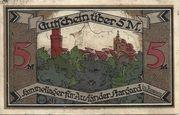 5 Mark (Stargard in Pommern; Sammellager für Ausländer) – revers