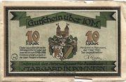 10 Mark (Stargard in Pommern; Sammellager für Ausländer) – avers