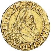 1 goldgulden Philipp II – avers