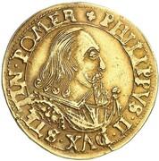 2 goldgulden Philipp II – avers