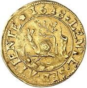 1 goldgulden Philipp II – revers