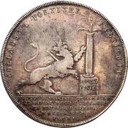 1 Thaler - Karl XII. – revers