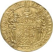 2 Ducat - Karl XI. – revers