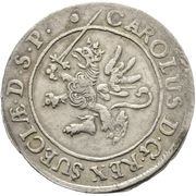 1/24 Thaler - Karl XI. – avers
