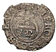 1 Witten - Karl XI. – revers