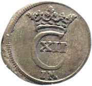 1 witten Karl XII – avers