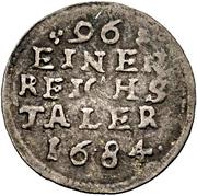 1 Sechsling - Karl XI. – revers