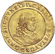 2 Ducat - Karl X. Gustav – avers