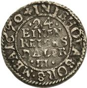 1/24 Thaler - Karl XI – revers