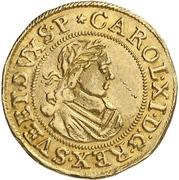 1 Ducat - Karl XI. – avers