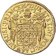 1 Ducat - Karl XI. – revers