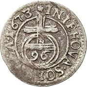 1/96 Thaler - Karl XI. – revers