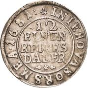 1/12 Thaler - Karl XI. – revers