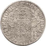⅔ Thaler - Karl XI. – revers